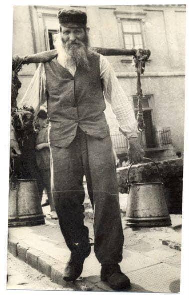 Lubelski nosiwoda zdjęcie z 1937 r