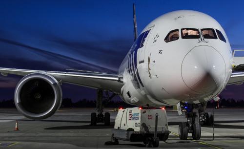 Przygotowania do lotów - Boeing 787 Dreamliner