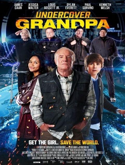 Undercover Grandpa (2017) PL.DVDRip.XviD.AC3-J / Lektor PL