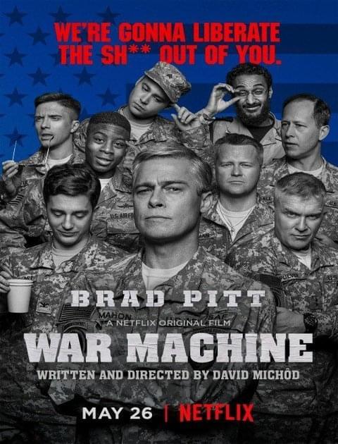 Machina wojenna / War Machine (2017) PL.WEBRip.x264-KiT / Lektor PL