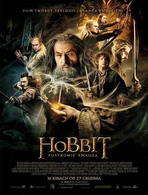 Hobbit: Pustkowie Smauga / The Hobbit The Desolation of Smaug (2013) EXTENDED PL 480p.BDRip.XviD.AC3-ELiTE / Lektor PL