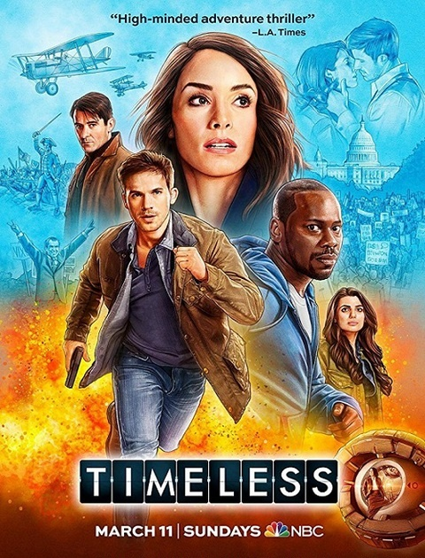 Timeless {Kompletny Sezon 2} (2018) PL.WEB.x264-J / Lektor PL