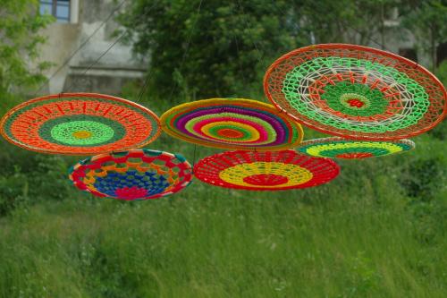 dekoracje na dawnej ul. Krawieckiej