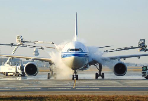 Magia chwili - odladzanie Air China.