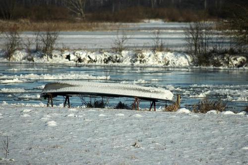 zimowo z mrozkiem -17 :)