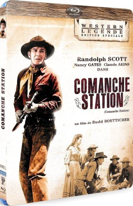 Porwana przez Komanczów / Comanche Station (1960) PL.BRRIP.XVID-BODZiO / Lektor PL