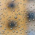 Kiedy pada deszcz #deszcz #krople #szyba