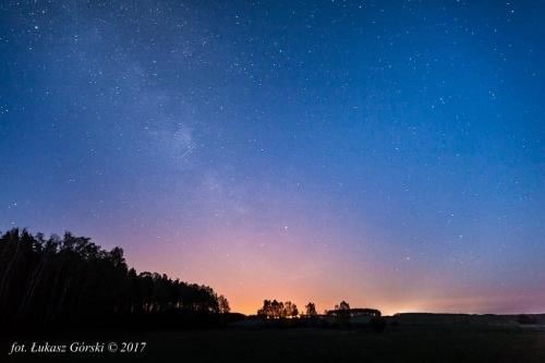 Magia gwieździstej nocy #astro #droga #mleczna #gwiazdy #noc