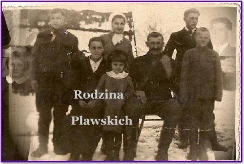 Strona rodziny Pławskich.