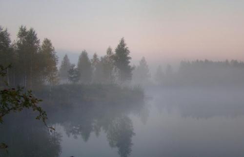 Październikowe mgiełki