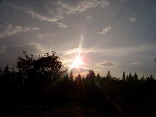 #zachod #slonce #wieczor #krajobraz