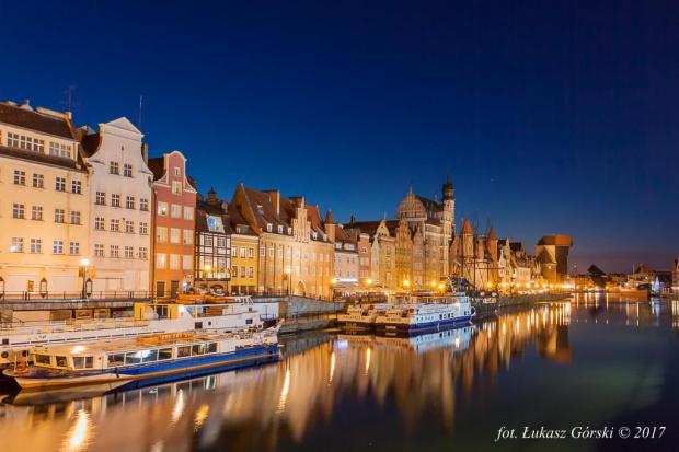 Nad Motławą nocą #Motława #Gdańsk #noc