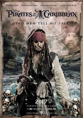 Piraci z Karaibów: Zemsta Salazara / Pirates of the Caribbean Dead Men Tell No Tales (2017) PLDUB.BDRip.XviD-KiT / Dubbing PL