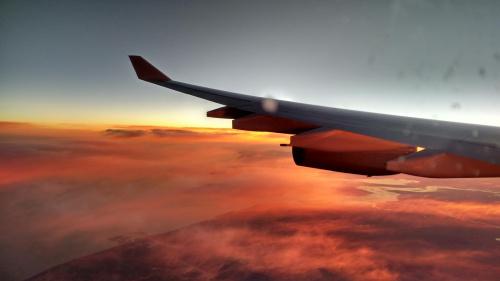 poranek z lotu ptaka- powrót z wakacji