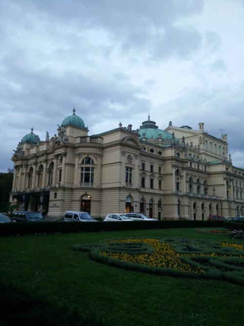 budynek teatru im.J.Słowackiego