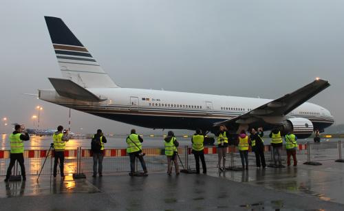 Pasjonaci Lotnictwa i największy pasażerski samolot na stałe latający do Polski
