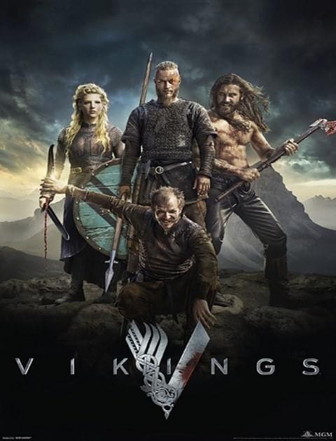 Wikingowie / Vikings {Kompletny Sezon 2} (2014) PL.720p.BDRip.XviD.AC3-ELiTE / Lektor PL