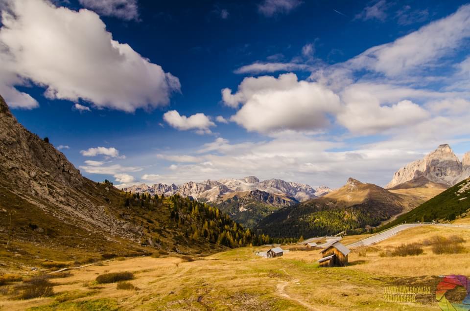 Dolomity, Włochy, Passo Pordoi, dawid twardowski, hezotart