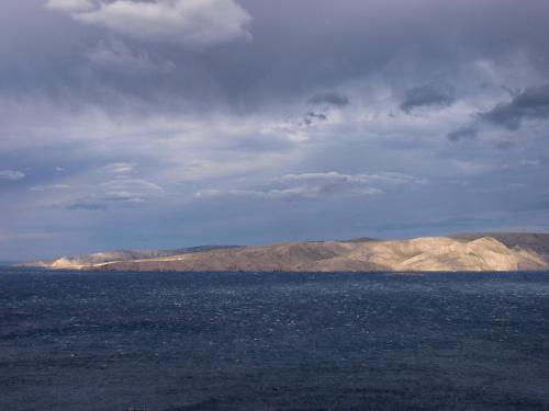 Widok na wyspę Krk